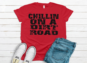Chillin' on a dirt road
