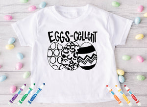 Eggs-cellent Easter Coloring *Choose size from drop down menu* It's Transfer Time Exclusive*