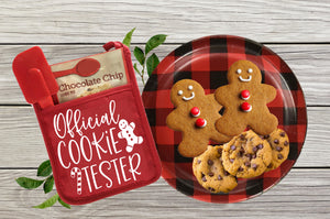 Official cookie tester - Pot Holder or towel size