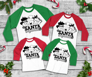 Santa squad Christmas *Choose size from drop down menu*