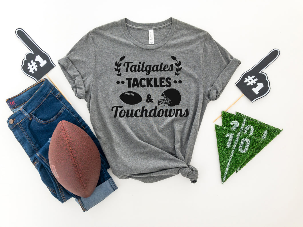 Tailgates and touchdowns football