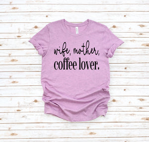 Wife, mother, coffee lover (Closing 5/2)