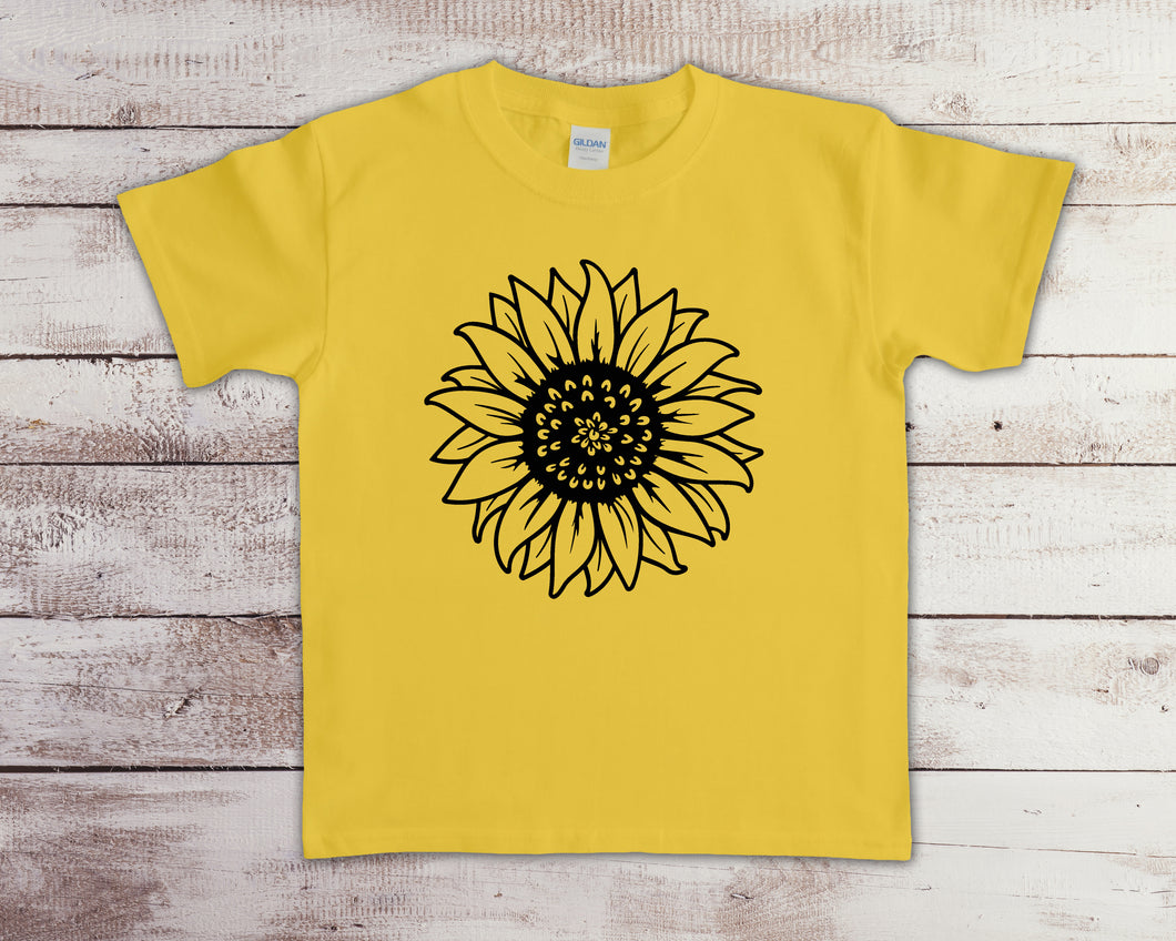 Black Sunflower YOUTH SIZE (Closing 4/4)