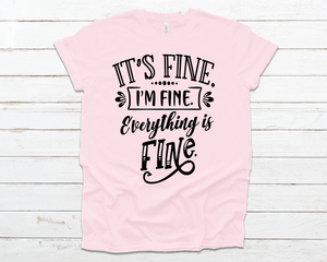 It's fine i'm fine everything is fine - Black (Closing 4/4)
