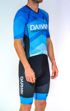 Load image into Gallery viewer, Mens Half Sleeve Darwin Tri Club Tri Suit - Revolution Clothing