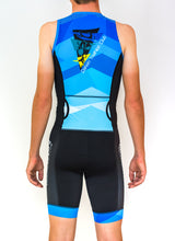 Load image into Gallery viewer, Mens Sleeveless Darwin Tri Club Tri Suit - Revolution Clothing
