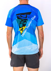 Mens Darwin Tri Club Running Shirt - Revolution Clothing