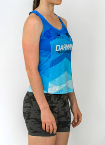 Womens Darwin Tri Club Running Singlet - Revolution Clothing