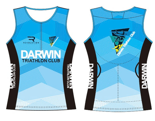 Womens Darwin Tri Club Tri Top - Revolution Clothing