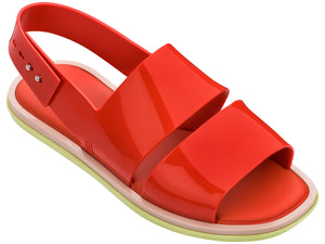 Melissa Carbon Ad RED/YELLOW/BEIGE