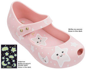 Mini Melissa Ultragirl Sweet Dreams PINK/WHITE