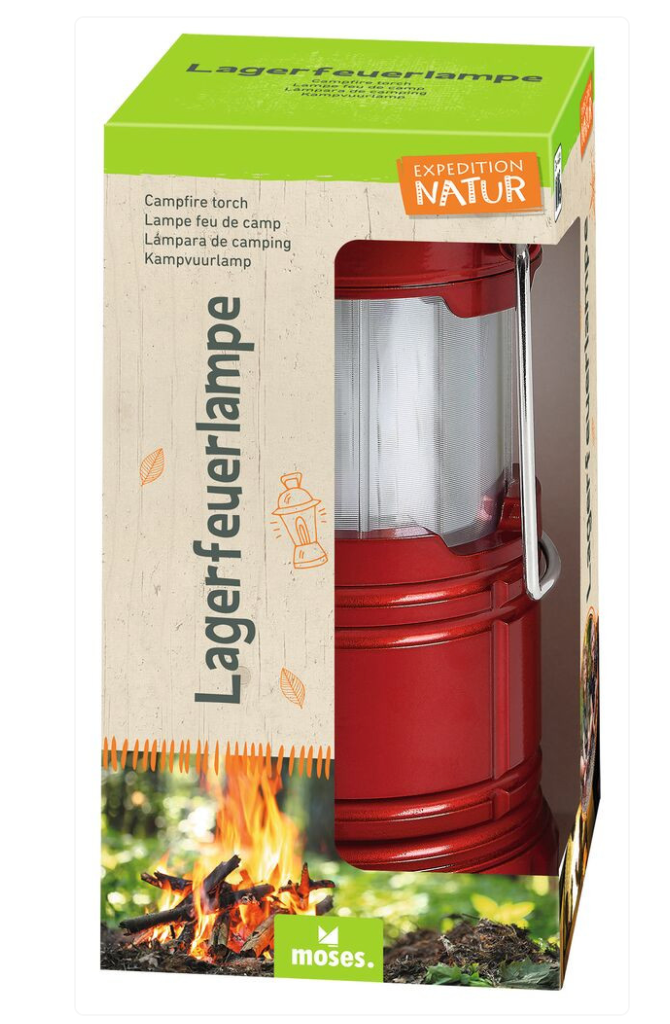 Expedition Natur Lagerfeuerlampe