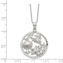"Load image into Gallery viewer, ""SEAHORSE COIN"" NECKLACE"