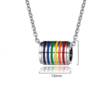 """TUNNEL"" PRIDE NECKLACE"