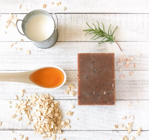 """SWEET OATMEAL"" SOAP BAR"