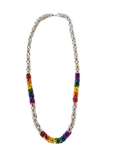 "Load image into Gallery viewer, ""CHAINMAILLE"" NECKLACE"