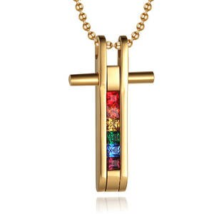 """LOVE RELIGION"" NECKLACE"