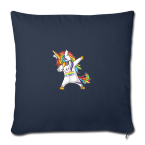"""SLAY"" PILLOW COVER - navy"