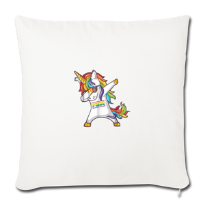"""SLAY"" PILLOW COVER - natural white"