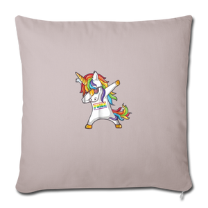 """SLAY"" PILLOW COVER - light taupe"