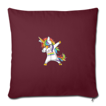 "Load image into Gallery viewer, ""SLAY"" PILLOW COVER - burgundy"