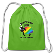 "Load image into Gallery viewer, ""SHEEP"" DRAWSTRING BAG - clover"