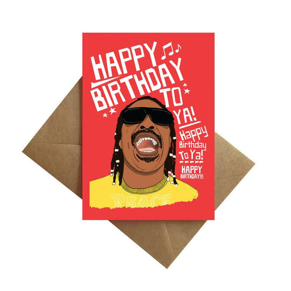 Stevie Birthday Card