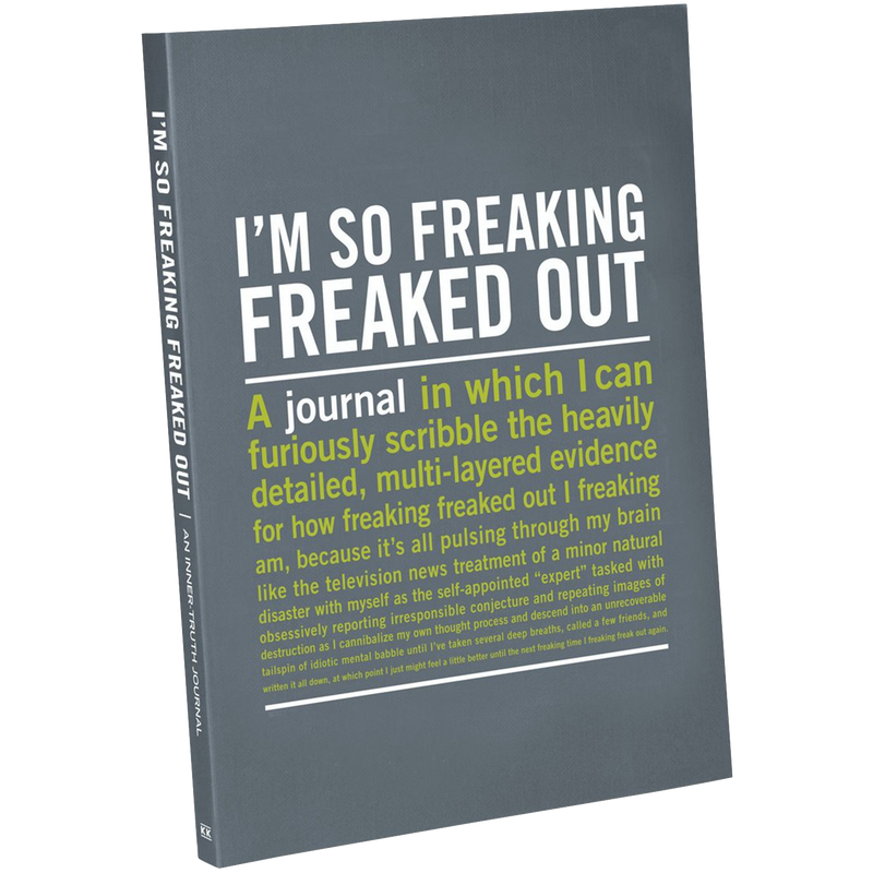 50082 I'm So Freaking Freaked Out Inner-Truth Journal