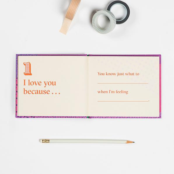 50264 | I Love You Because … Fill in the Love Because Book