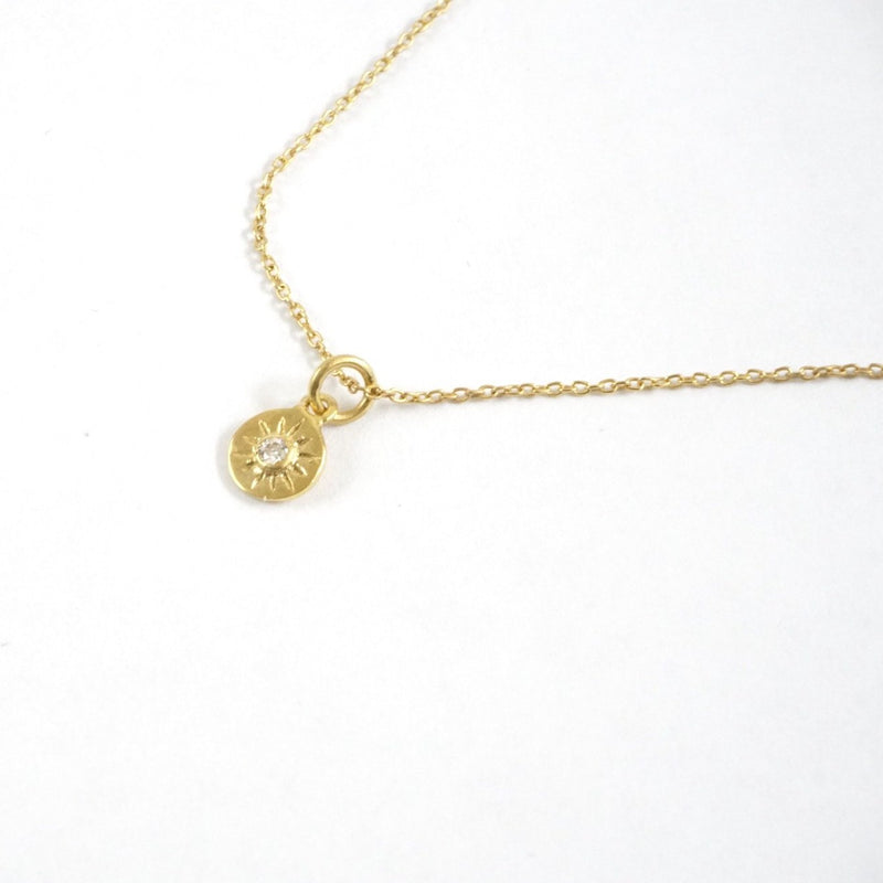 C GP Compass Necklace