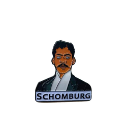 Arturo Schomburg - Enamel Pin by Reformed School