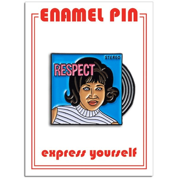 Aretha Franklin Pin