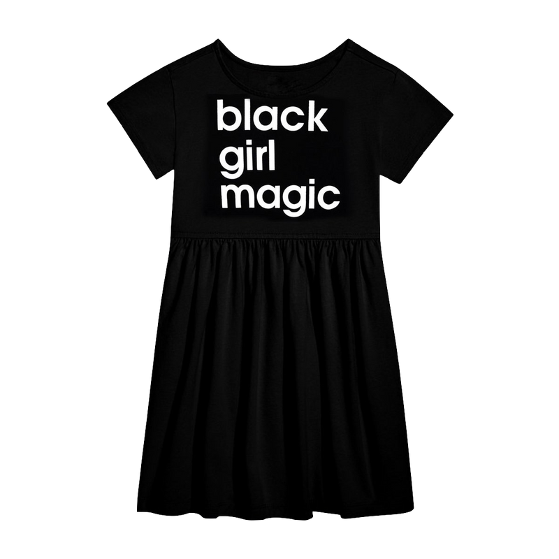 Black Girl Magic Toddler Dress
