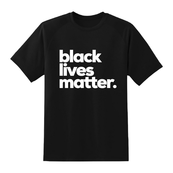 Black Lives Matter. T-Shirt (Mens/Unisex)