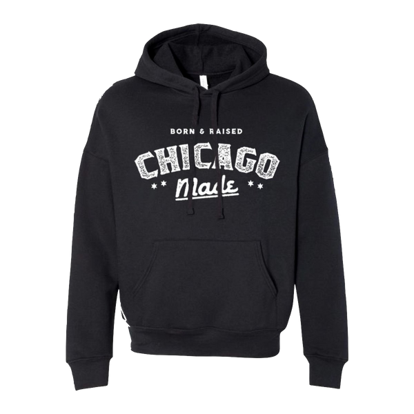 Born & Raised Chicago Made Unisex Hoodie
