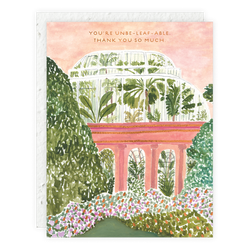 Palm House (You're unbe-leaf-able) Card