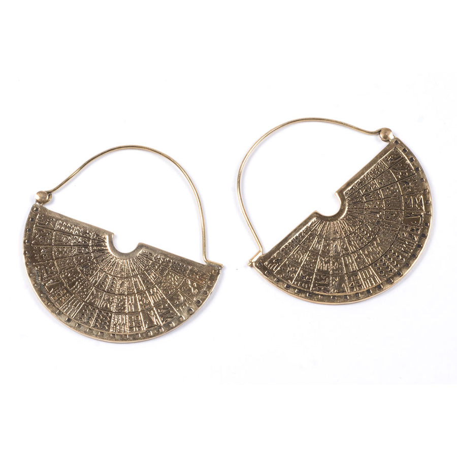 Baizaar Mayan Wing Earrings