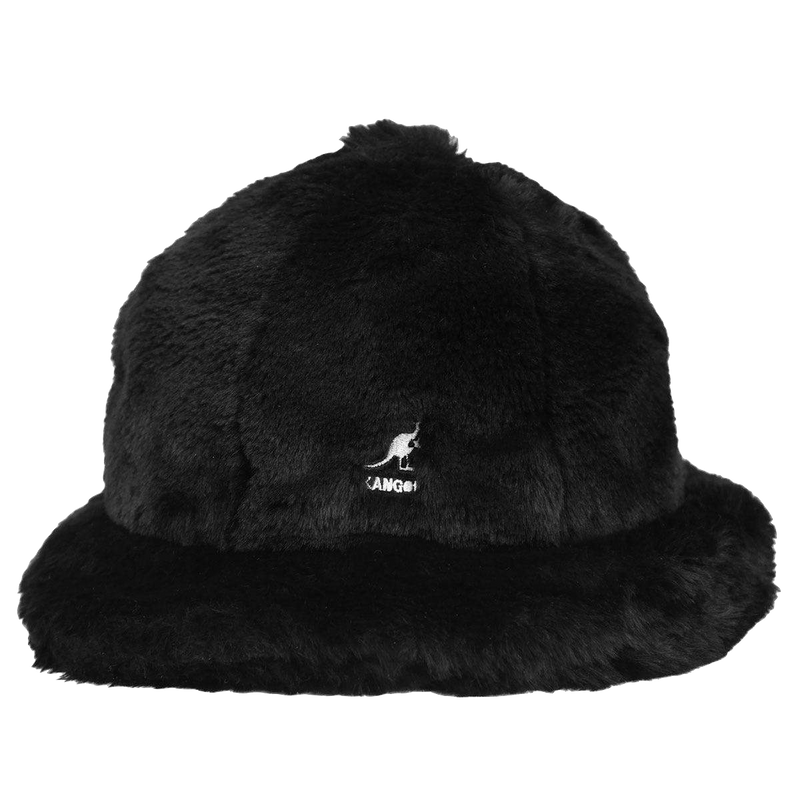Faux Fur Casual Black