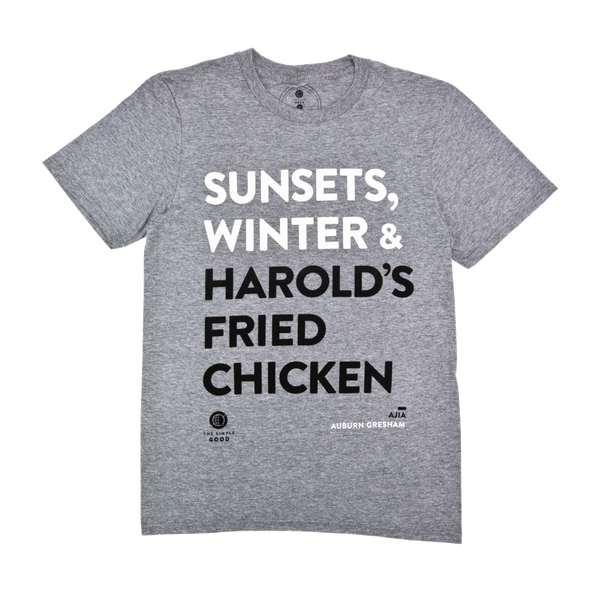 'Fried Chicken in Auburn Gresham' T-Shirt by The Simple Good