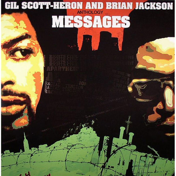 Gil Scott-Heron & Brian Jackson - ANTHOLOGY MESSAGES LP
