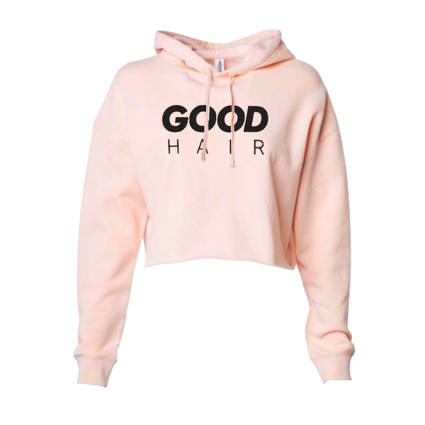 Good Hair Crop Hoodie