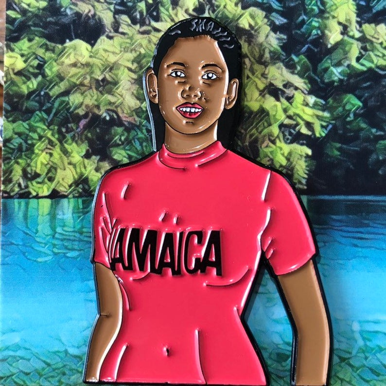 Jamaica Tee - Enamel Pin by Reformed School