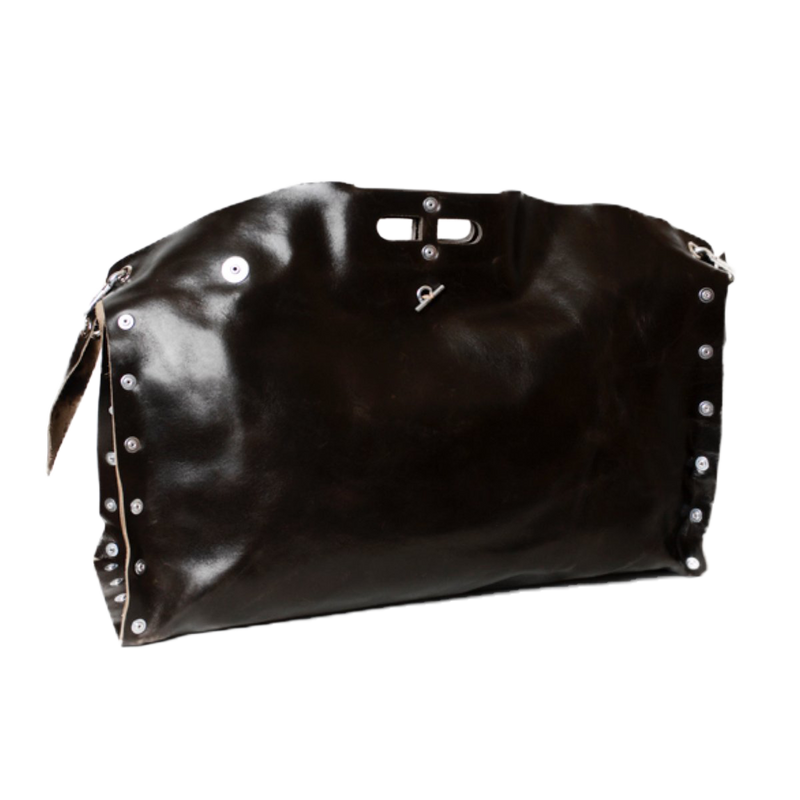 Leather Weekend Carga Bag