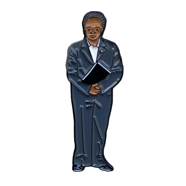 Lightfoot Lapel Pin