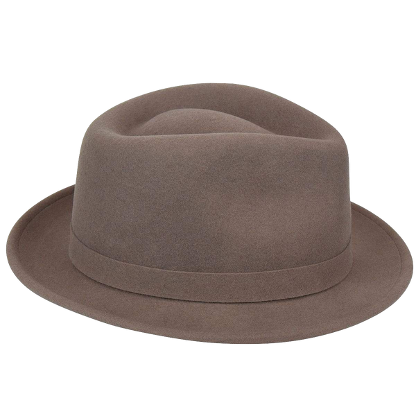 LiteFelt Hiro Trilby - Cocoa