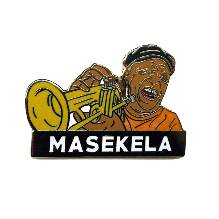 Masekela - Enamel Pin by Reformed School
