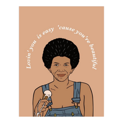Minnie Ripperton Loving You Greeting Card