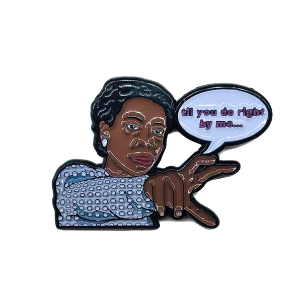 Miss Celie - Enamel Pin by Reformed School