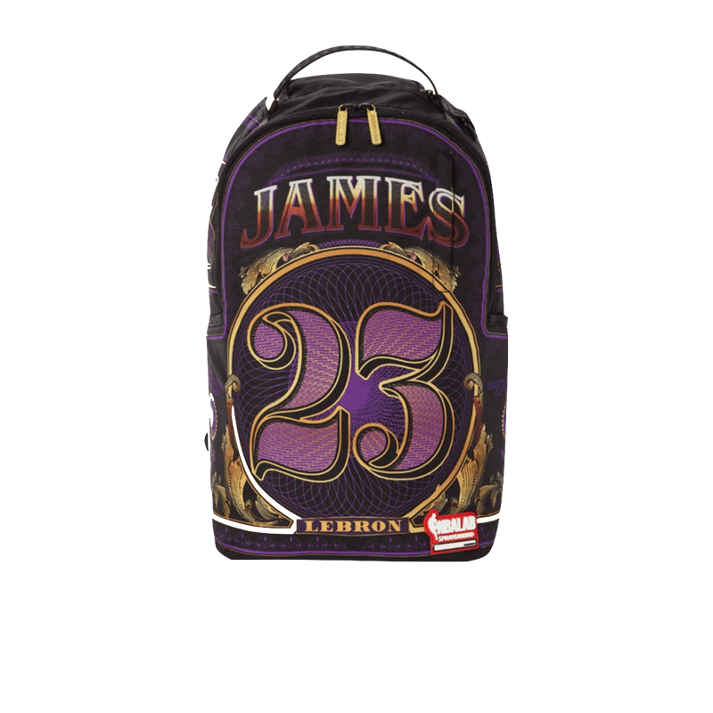 NBA LEBRON MONEY BACKPACK