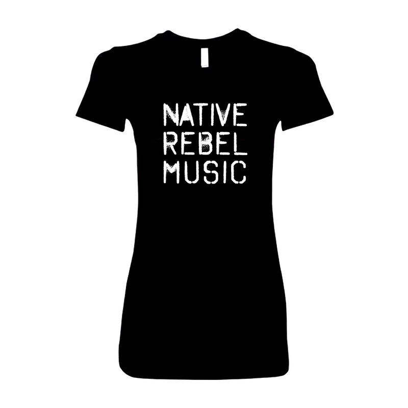 Native Rebel Music Women's Tee by Ron Trent